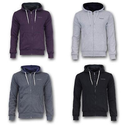 PIERRE CARDIN Kapuzen Jacke Pullover Sweatshirt Zip Hoody Pulli S M L XL 2XL 3XL 3 Zip Hoody