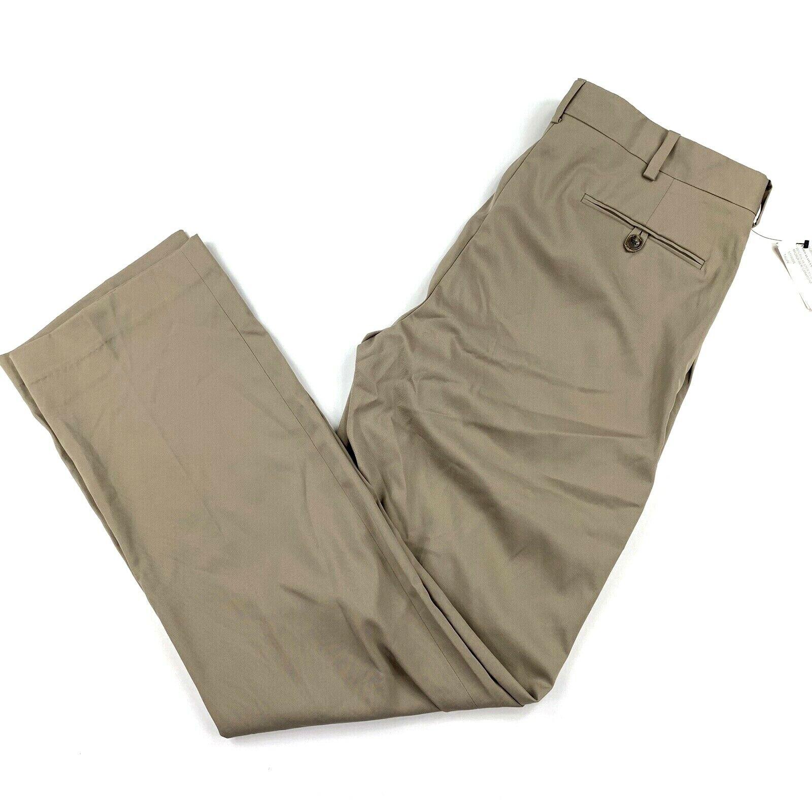 Ralph Lauren Purple Label Italy Mens RLX Navy Linen Drawstring Trouser Pants NWT