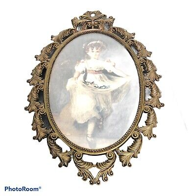 Picture Frames Antique Oval Picture Frame Vatican