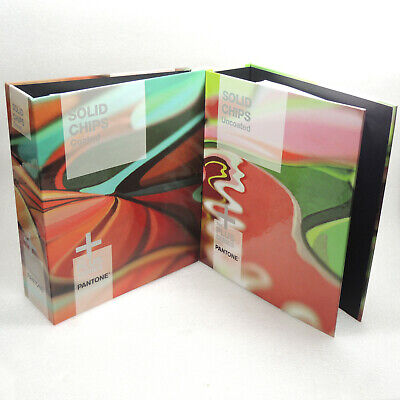 Pantone Plus Solid Chips Coated Uncoated Book Set 1755 Pms Colors 2014