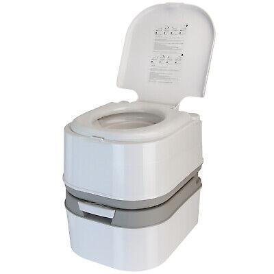 Mobile Campingtoilette Tragbares WC 24 L mit Kolbenpumpe und 44 cm Sitzhöhe ()