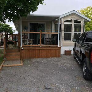 Park model trailer in kwarthas—open house 12-4 daily