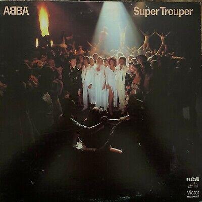 ABBA -SUPER TROUPER- 1981 MEXICAN LP EUROPOP