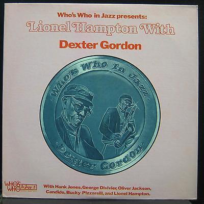 Lionel Hampton   Presents Dexter Gordon Lp Mint  Wwlp 21011 Vinyl 1977 Record