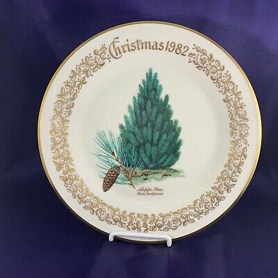Lenox CHRISTMAS TREE Aleppo Pine Dinner Plate 1992