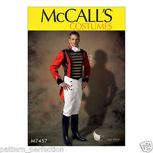 McCall's 7457 Sewing Pattern to MAKE Mens' Costume - Historic Uniform - Cosplay