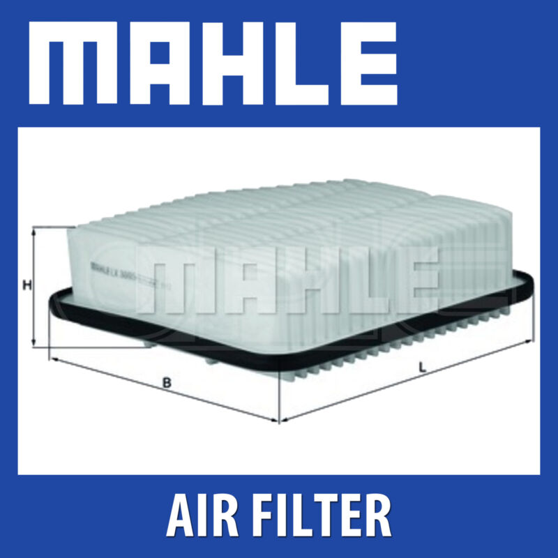 MAHLE Air Filter - LX3005 (LX 3005) Genuine Part - Fits LEXUS, TOYOTA