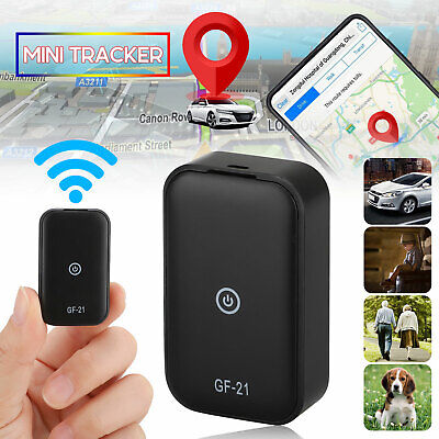 GF21 Magnetic GSM Mini GPS Tracker Real Time Tracking Locator Device For Car US