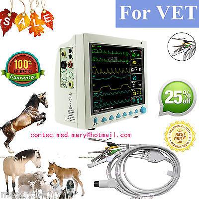 Vet Veterinary Patient Monitor 6 Parameterecgnibpprspo2temprespcefdahot