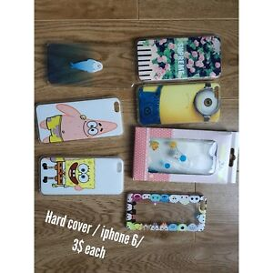 Iphone 5 & 6 cases 2-3$ each