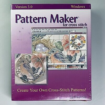HobbyWare Create Your Own Pattern Maker For Cross Stitch Version 3.0 Windows
