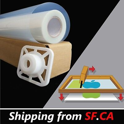 Waterproof Inkjet Instant Dry Screen Printing Transparency Film44inx100ftroll