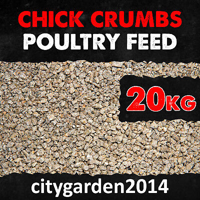 20kg Poultry Chick Crumbs 18% Protein + ACS - Chick - Food - Hen - Feed
