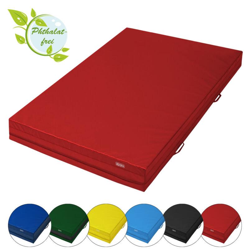 Weichbodenmatte Turnmatte 200x100x20 cm mit Anti-Rutschboden und Tragegriffen