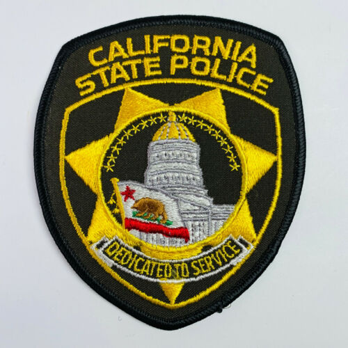 California State Police Defunct Patch (A)