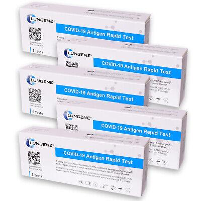 25x Clungene Corona Schnelltest Covid-19 Laien Selbsttest Antigen Test Kit BfArM
