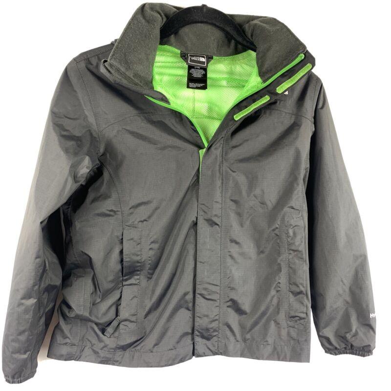 The North Face Hyvent Windbreaker Hooded Rain Jacket Boy