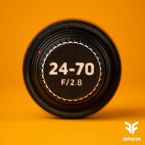 Custom Lens Cap - Canon EF - 3DFocus