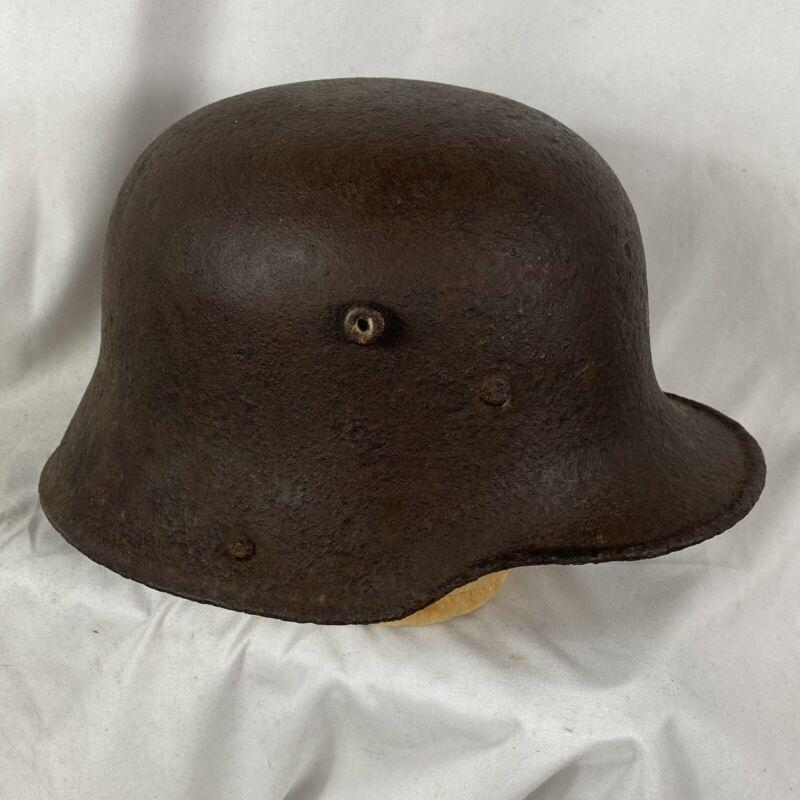 Original WW1 German Helmet Stahlhelm Relic Shell