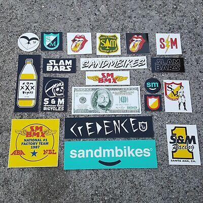 DK BMX Bike  Decals x2 Stickers Genuine