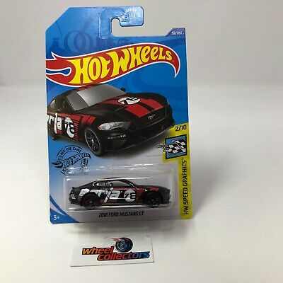 2018 Ford Mustang GT #92 * Black * 2020 Hot Wheels Case J * B27