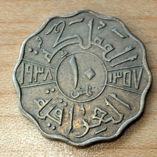 1938 I Iraq 10 Fils