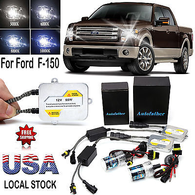 55W 9005HB3H10 Fog Light All Colors Xenon HID Kit For Ford  F 150 1999 2012
