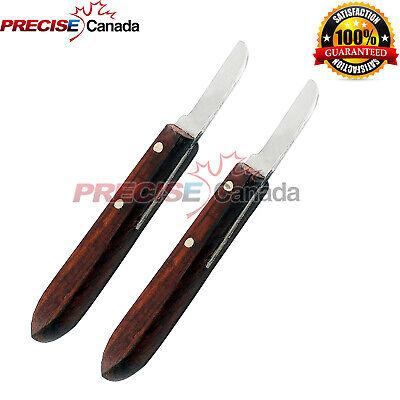 2 Pcs Dental Instrument Knife Type Buffalo Original 7r