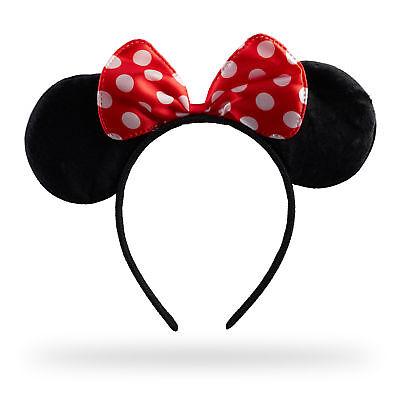 Haarreif Maus Kopfschmuck Ohrenhaarreif mit Schleife Mäuseohren Kostüm Fasching (Maus Kopf Kostüm)