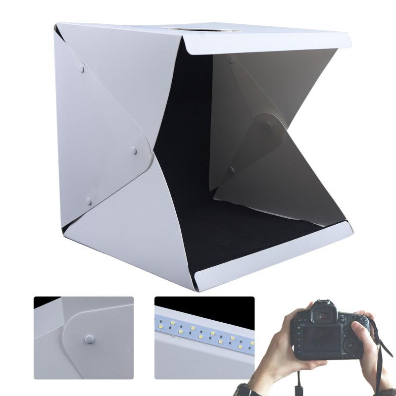 Box Light Mini Portable Photo Photography Studio Backdrop Tent Cube Room Kit LED