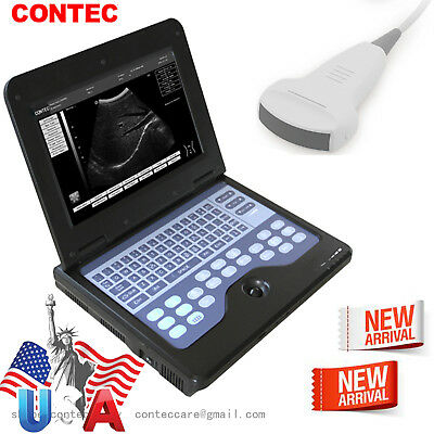 Us Ship Portable Laptop Ultrasound Scanner Machine Digital 3.5m Convex For Human