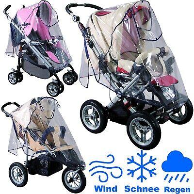 Regenschutz Kinderwagen Regenverdeck Universal Sportwagen Buggy Sunny Baby NEU