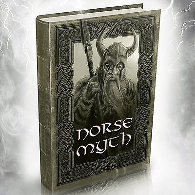 Norse Mythology - 181 Old Books on DVD -Vintage Vikings Teutonic Thor Odin Gods