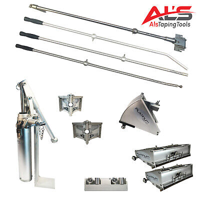 Platinum Drywall Finishing Set W10 12 Boxes W 2.5 And 3.5 Angle Heads