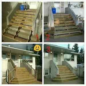 Get your decking, rails & stairs done! Prince George British Columbia image 1