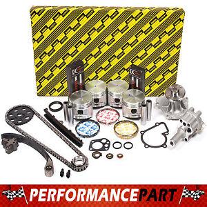 Fits 90-97 Nissan D21 Pick Up 2.4L Engine Rebuild Kit KA24E