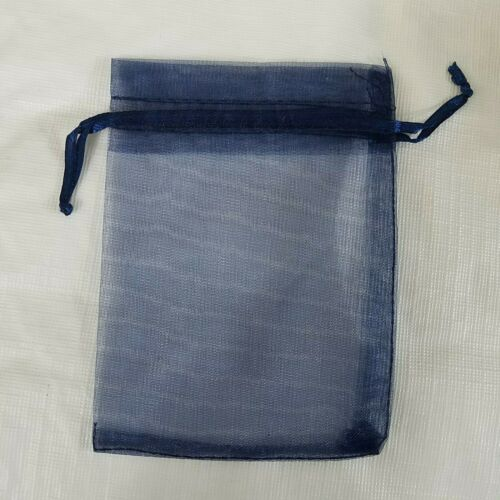 Jewelry Bags Pouches Navy Blue 3.5 X 4.75 Inches 50 Pack