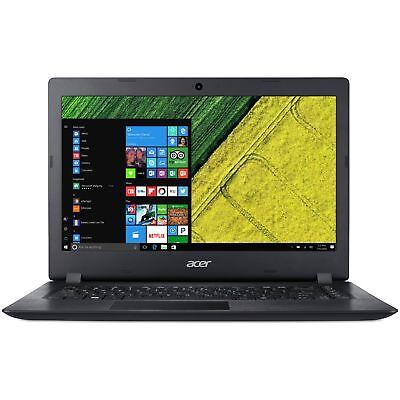 Acer Aspire One 14 Inch HD Intel Celeron 1.1GHz 4GB 32GB Windows Laptop - Black