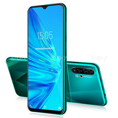 6.6 inch Unlocked Smartphone Android 9.0 Cell Phone Dual SIM 4GB Phablet GSM 3G