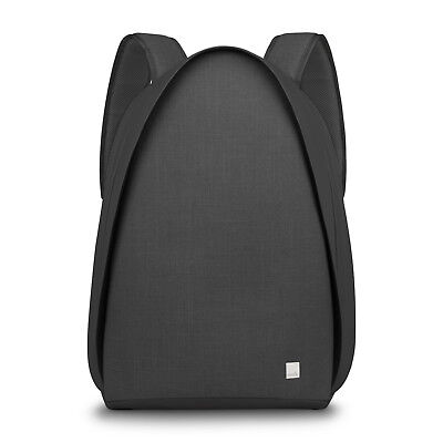 Moshi Tego anti-theft Backpack with USB Charging Port,Water Resistant Black