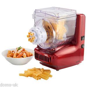 VonShef Electric Pasta Maker Professional Spaghetti Noodle Machine 6 Attachments