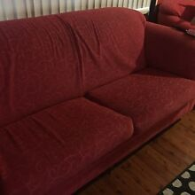 Free red lounge suite Marayong Blacktown Area Preview