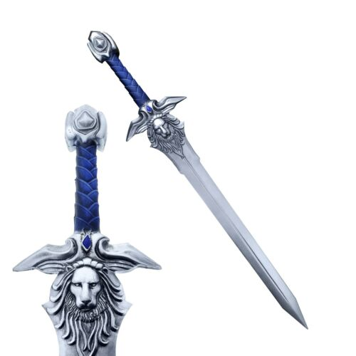 WarCraft Sword: Royal Guard Lion Sigil High Density Foam Sword Props Replica