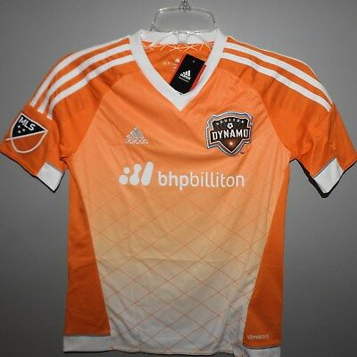 MLS Adidas Houston Dynamo #11 Soccer Jersey New Youth Sizes