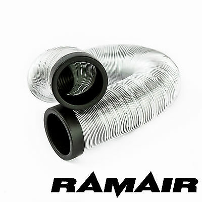 RAMAIR Cold Air Feed Flexible For Induction Kits 50mm 2m Length Hose Pipe Tube