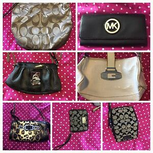 Coach and guess wallets and purses