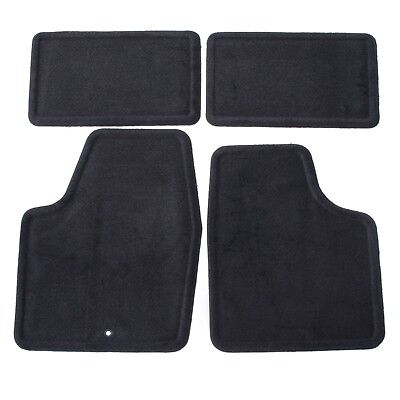 2006-2016 Chevy Impala Front & Rear Replacement Floor Mats Black by GM 25795457 ()