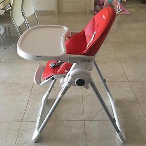 Peg Perego high chair excellent condition Edensor Park Fairfield Area Preview