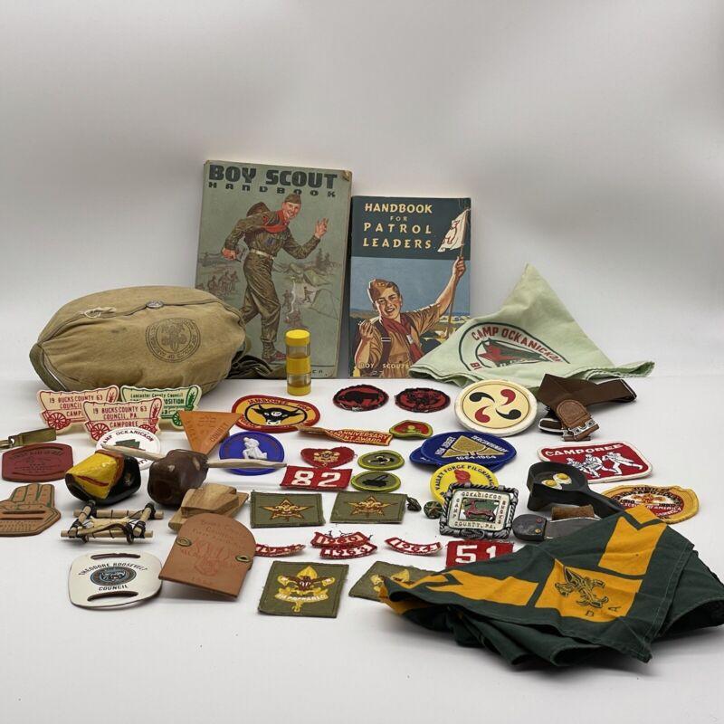 BSA Boy Scouts of America Mixed Lot Bucks County, PA 50's & 60's +