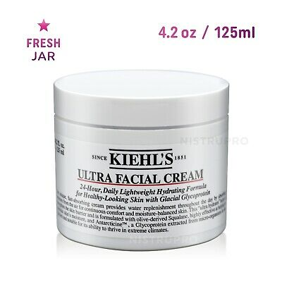 Kiehl's ULTRA FACIAL CREAM 4.2 oz / 125 ml - Hydrating Moisturizer - NEW Sealed